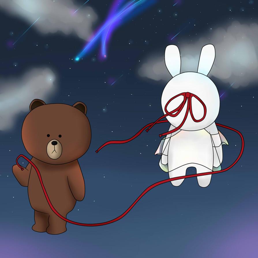 Kimi No Na Wa - LINE version by sakihellish13