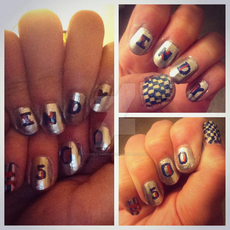 Indy 500 nails by Canis-Simensis on DeviantArt