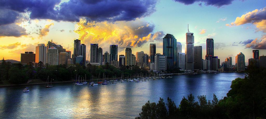 Brisbane HDR by newintenz