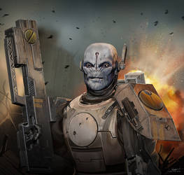 Tau by CarlHolden
