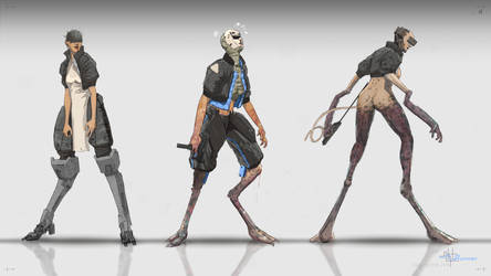 Runner Concept Sketches