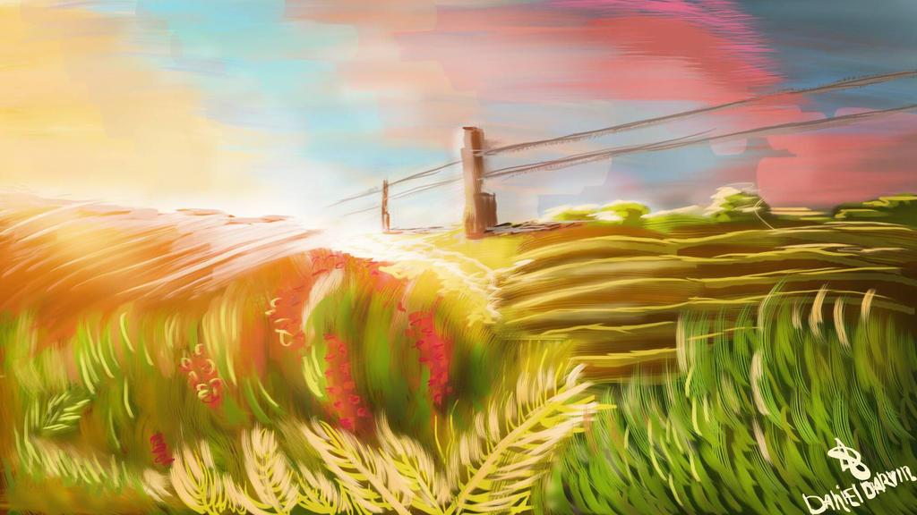 The Sun shrouded the Earth by DanDarvin