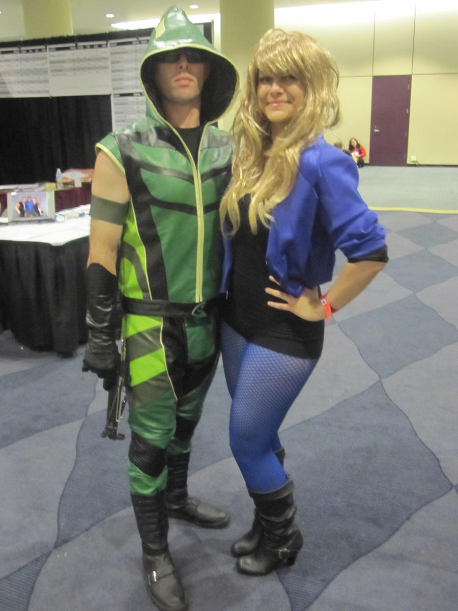 Green Arrow And Black Canary Black Canary And Green