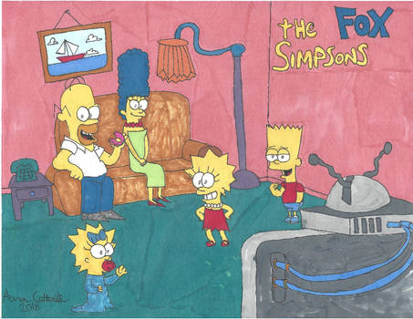 Marker Mania: The Simpsons