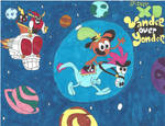 Marker Mania: Wander Over Yonder by Amazing-A2001