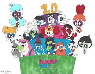 Cheers to 20 years Powerpuff Girls!