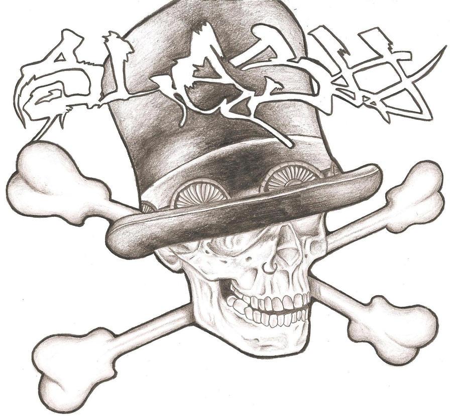 Slash skull by Ginao-Slayer on DeviantArt