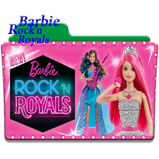 Barbie Rock N Royals Wallpaper: Barbie Rock'n Royals Folder Icon By Atakur On DeviantArt