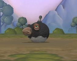 Black Bomb Bird