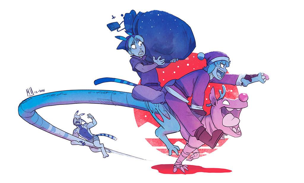 Merry Christmas! by MVpurplespot