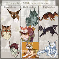 2018 feral commission sheet!~ ( OUTDATED) by th1stlew1ng