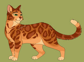 1. Firestar by th1stlew1ng