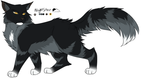 Nightstar Ref (updated) by th1stlew1ng