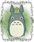 Totoro Deity for my pal Rocio