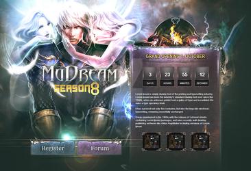 MuDream Intro Page