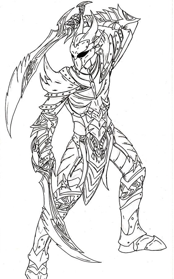 Daedric Fury By Nimrohd On DeviantArt