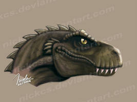 Tyrannosaurus Rex by Nickcs