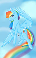 Rainbow Dash (Collab) by KayleeA