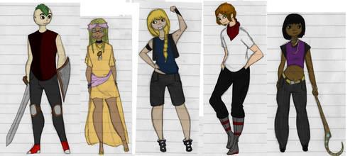 The B Team by Wondering-Antagonist