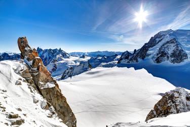 Glacier du Geant by Reiep