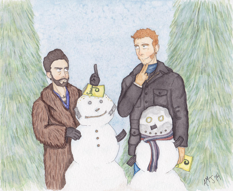 Do You Wanna Build a Fucking Snowman? by LadyDorian