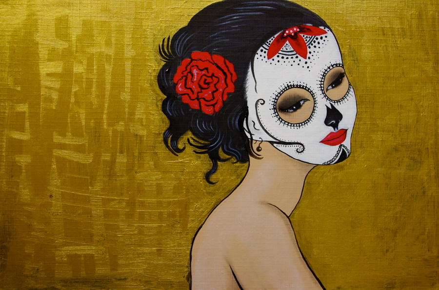 Sugar Skull by KlairedeLys