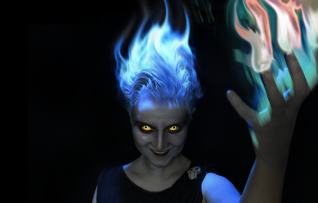 Real Life Disney: Hades by KlairedeLys
