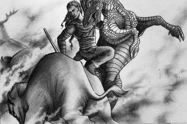 The Goblin King - Chapter 8 Outsider Illustration