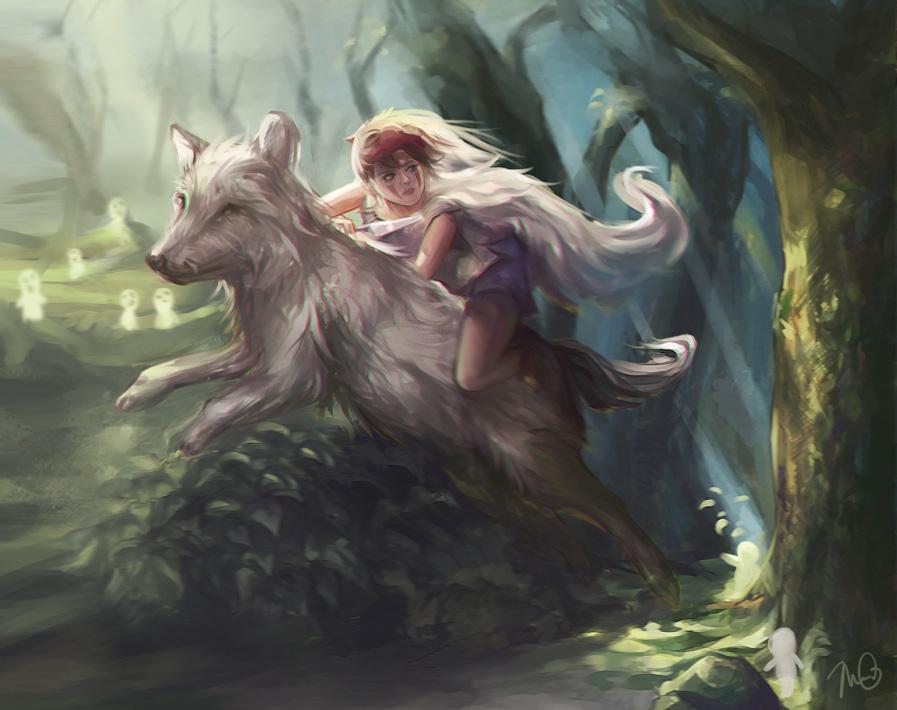 Asian werewolf wish was