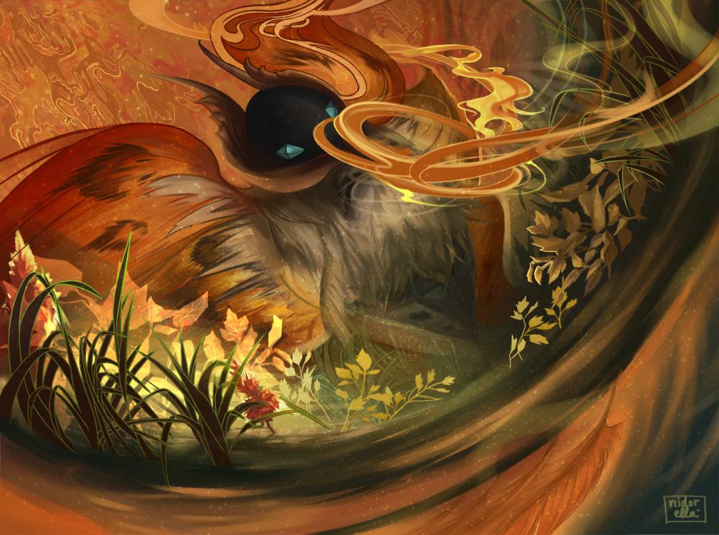 Pokemon: Volcarona by eirlude