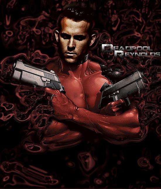 Deadpool-Reynolds by marcelo-g