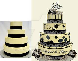 WeddingCake2 by LyraBlackArt