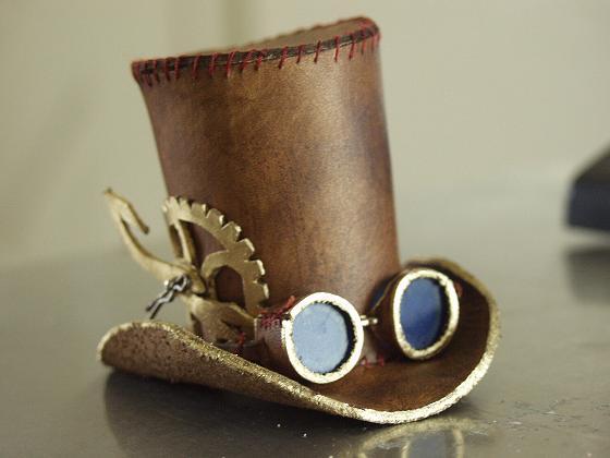 steampunk tophat by littlelazydragon