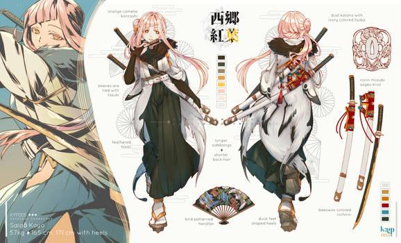 Saigo Koyo_character sheets