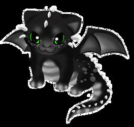 Baby Dragon by Panda-kiddie