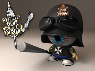 Von Brand mascot by Johnny-Sputnik