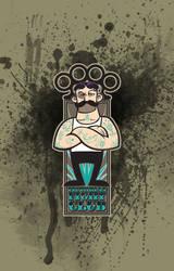 Victorian Fight Club - Tattoo Splat by Johnny-Sputnik