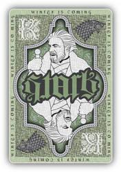 Stark playing card