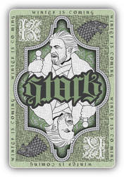 Stark playing card