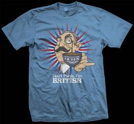 Don't Panic, I'm British