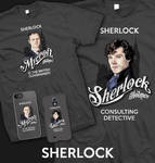 Sherlock Tees and phone cases