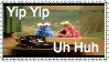 Yip Yip stamp REVISED by Macropus-Rufus