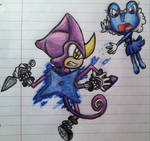 Ninja Fight! Espio Vs. Frelilla