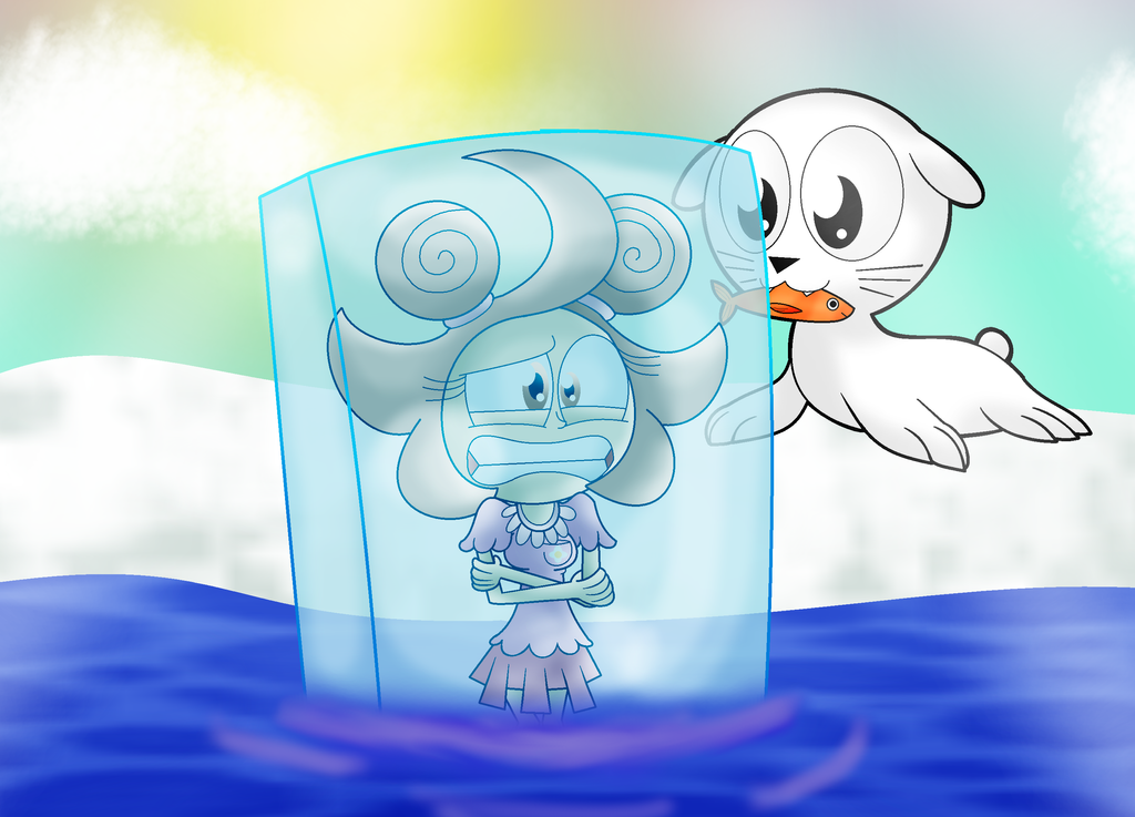 Frozen Solid by HyperBeamEevee on DeviantArt
