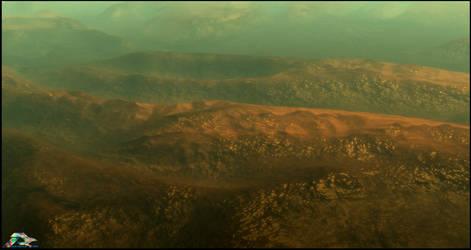 Somewhere on Titan by LWJackn