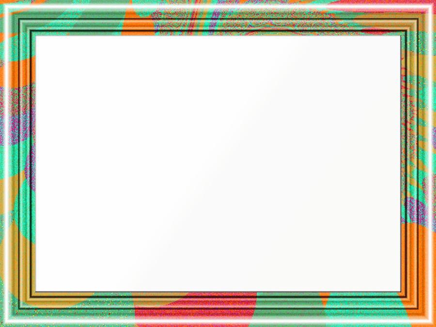 Multicolor Fractal Frame 1 by Xantahelia on DeviantArt