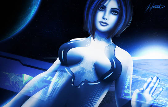 Cortana by ZarahXenon