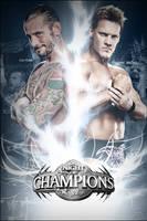 WWE Night Of Champions 2012 Custom Poster