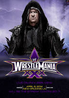 WWE WrestleMania XXX (30) Poster - First Edition by skilled97