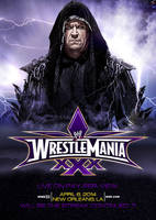 WWE WrestleMania XXX (30) Poster - Second Edition by skilled97